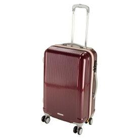 キャプテンスタッグ CAPTAIN STAG グレル トラベルスーツケース:TSAロック付ダブルファスナータイプ(M/ワインレッド) UV-26