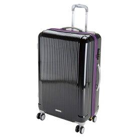 キャプテンスタッグ CAPTAIN STAG グレル トラベルスーツケース:TSAロック付ダブルファスナータイプ(L/ブラック) UV-31