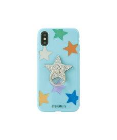 IPHORIA アイフォリア Happy Blue Stars for iPhone X/XS ハッピーブルースターズ 16174