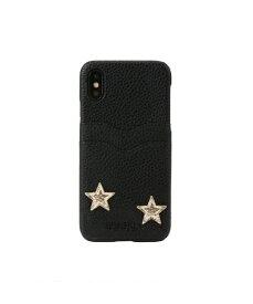 IPHORIA アイフォリア Slot Black Stars Stay With Me for iPhone X/XS スロットブラックスターズステイウィズミー 16580