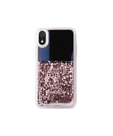 IPHORIA アイフォリア Liquid Case Pink Party for iPhone XR リキッドケースピンクパーティ 16605