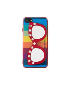 IPHORIA アイフォリア Rainbow Diamond With Glasses for iPhone SE(第2世代)/7/8 対応 レインボーダイアモンドウィズグラッシーズ 16238