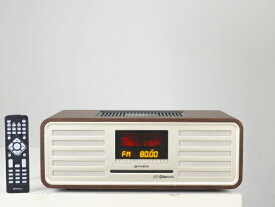 ドウシシャ DOSHISHA SMS-850BT 真空管ハイブリッドCDステレオ SANSUI [Bluetooth対応 /ワイドFM対応][SMS850BT]