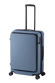 JOURNAL STANDARD ジャーナルスタンダード 【ビックカメラグループオリジナル】スーツケース シェルフ付きハードキャリー 61L ネイビーグリーン JSC-61-N [TSAロック搭載]【point_rb】
