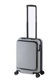 JOURNAL STANDARD ジャーナルスタンダード 【ビックカメラグループオリジナル】スーツケース シェルフ付きハードキャリー 31L グレージュ JSC-31-G [TSAロック搭載][スーツケース]【point_rb】