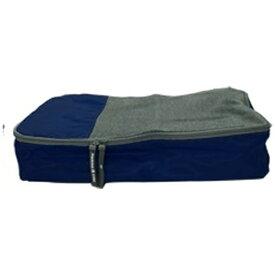 TTC パッキングキューブ 衣類収納ケース Mサイズ COS0159 ネイビー