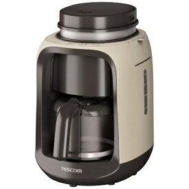 テスコム TESCOM 全自動コーヒーメーカー[TCM501C]
