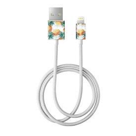 IDEAL OF SWEDEN MFIライトニング 充電通信ケーブル 1M パインアップル IDFCL-91
