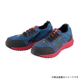 ユニワールド uni WORLD AW-730-255 AIRWALK ニットフィット安全靴 5.5cm ネイビー/レッド 2