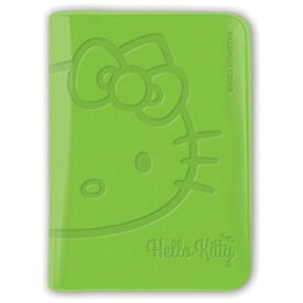 ALIFE パスポートカバー HELLO KITTY BV PASSPORT COVER SNAK-002-3 グリーン[SNAK0023]