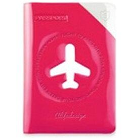 ALIFE パスポートカバー HAPPY FLIGHT SHIELD PASSPOR COVER スキミング防止機能付 SNCF-122-1 ローズ