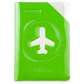 ALIFE パスポートカバー HAPPY FLIGHT SHIELD PASSPOR COVER スキミング防止機能付 SNCF-122-2 オレンジ