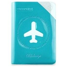 ALIFE パスポートカバー HAPPY FLIGHT SHIELD PASSPOR COVER スキミング防止機能付 SNCF-122-4 Cブルー