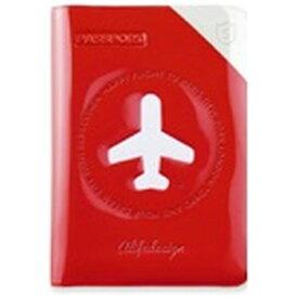 ALIFE パスポートカバー HAPPY FLIGHT SHIELD PASSPOR COVER スキミング防止機能付 SNCF-122-5 レッド