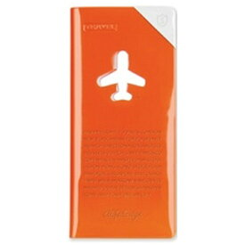ALIFE トラベルオーガーナイザー スキミング防止 HAPPY FLIGHT SHIELD TRAVEL ORGANIZER SNCF-123-2 オレンジ