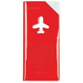 ALIFE トラベルオーガーナイザー スキミング防止 HAPPY FLIGHT SHIELD TRAVEL ORGANIZER SNCF-123-5 レッド