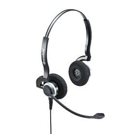 サンワサプライ SANWA SUPPLY ヘッドセット MM-HSU11BK [USB /両耳 /ヘッドバンドタイプ][MMHSU11BK]