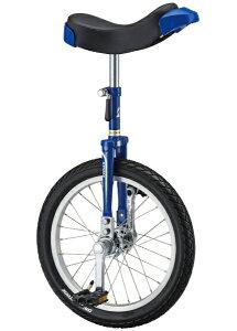 ブリヂストン BRIDGESTONE 16型 一輪車 スピンズ(乗車可能身長:110cm以上/ブルー)SPN-16【組立商品につき返品不可】 【代金引換配送不可】