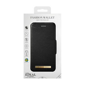 IDEAL OF SWEDEN アイディールオブスウェーデン iPhone XR用ウォレットケース ブラック IDFW-I1861-01