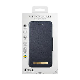 IDEAL OF SWEDEN アイディールオブスウェーデン iPhone XR用ウォレットケース ネイビー IDFW-I1861-50