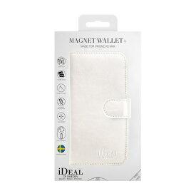 IDEAL OF SWEDEN アイディールオブスウェーデン iPhone Xs Max用ウォレットケース ホワイト IDMWP-I1865-10