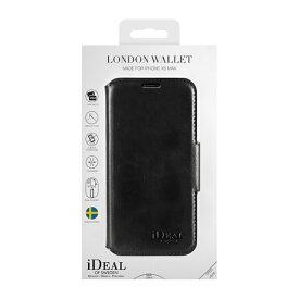 IDEAL OF SWEDEN アイディールオブスウェーデン iPhone Xs Max用ウォレットケース ブラック IDLW-I1865-01