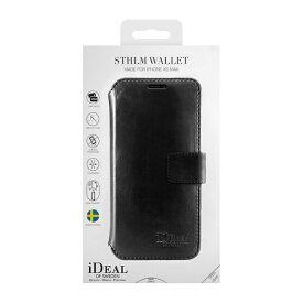 IDEAL OF SWEDEN アイディールオブスウェーデン iPhone Xs Max用ウォレットケース スリムブラック IDSTHW-I1865-01