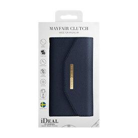 IDEAL OF SWEDEN アイディールオブスウェーデン iPhone XR用ウォレットケース クラッチネイビー IDMC-I1861-50