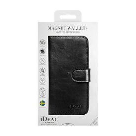 IDEAL OF SWEDEN アイディールオブスウェーデン iPhone Xs Max用ウォレットケース ブラック IDMWP-I1865-01