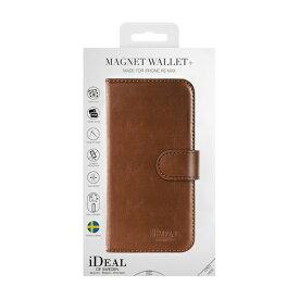 IDEAL OF SWEDEN アイディールオブスウェーデン iPhone Xs Max用ウォレットケース ブラウン IDMWP-I1865-03