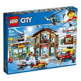 レゴジャパン LEGO 60203 シティ スキーリゾート[レゴブロック]