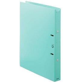 プラス PLUS 利用者カルテ リングファイル A4-S 背33 ブルー FL-808RF