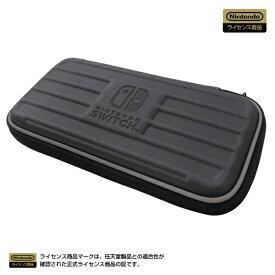 HORI ホリ タフポーチ for Nintendo Switch Lite ブラック×グレー NS2-014【Switch Lite】