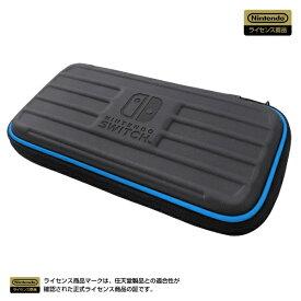 HORI ホリ タフポーチ for Nintendo Switch lite ブラック×ブルー NS2-015【Switch Lite】 【代金引換配送不可】