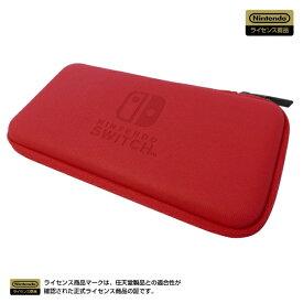 HORI ホリ スリムハードポーチ for Nintendo Switch Lite レッド NS2-049【Switch Lite】