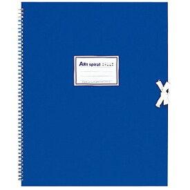 マルマン maruman F6 スケッチブック アートスパイラル ブルー S316-02