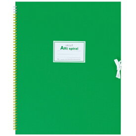 マルマン maruman F6 スケッチブック アートスパイラル ライトグリーン S316-33