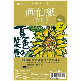 マルマン maruman アートペーパー 画仙紙(越前) 10枚 S134C