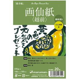 マルマン maruman アートペーパー 画仙紙(越前) 20枚 S146C