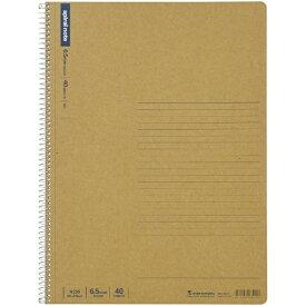 マルマン maruman A4 ノート スパイラルノート ベーシック メモリ入6.5mm罫 40枚 N235