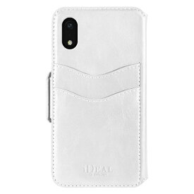 IDEAL OF SWEDEN アイディールオブスウェーデン iPhone XR用ウォレットケース ホワイト IDLW-I1861-10