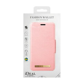 IDEAL OF SWEDEN アイディールオブスウェーデン iPhone XR用ウォレットケース ピンク IDFW-I1861-51
