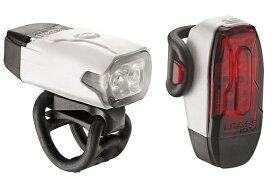 LEZYNE USB LEDライト ペアセット LEZYNE レザイン KTV DRIVE PAIR(ホワイト) 57_3504210010