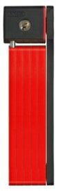 アバス ABUS コンパクトブレードロック FOLDDABLE LOCKS ABUS アブス U GRIP BORDO 5700(800mm/レッド) 85_3602246006