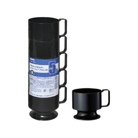 サンナップ SUNNAP プラカップホルダー黒5P ICHL-5BK