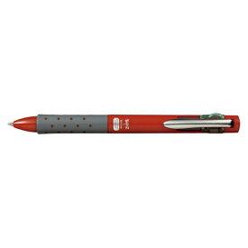 トンボ鉛筆 Tombow [油性ボールペン] 4色ボールペン リポータースマート(0.7mm /黒・赤・青・緑) BC-FRL31 レッド