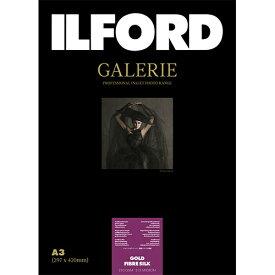 イルフォード ILFORD イルフォードギャラリーゴールドファイバーシルク 310g/m2(A3サイズ・25枚)ILFORD GALERIE Gold Fibre Silk 422132[422132]【wtcomo】