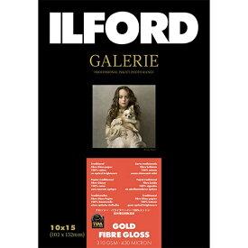 イルフォード ILFORD イルフォードギャラリーゴールドファイバーグロス 310g/m2(102x152・50枚)ILFORD GALERIE Gold Fibre Gloss 422103[422103]【wtcomo】