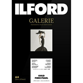 イルフォード ILFORD イルフォードギャラリーゴールドファイバーパール(A4 ・25枚)ILFORD GALERIE Gold Fibre Pearl[433203]【wtcomo】
