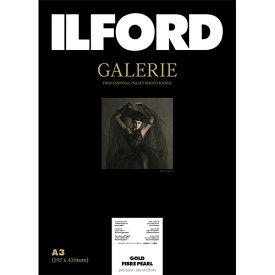 イルフォード ILFORD イルフォードギャラリーゴールドファイバーパール 290g/m2(A3・25枚)ILFORD GALERIE Gold Fibre Pearl 433206[433206]【wtcomo】